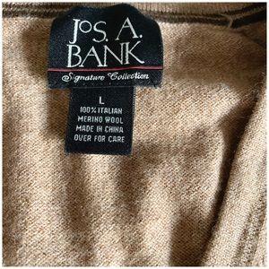 J.O.A. Jackets & Coats - J.o.A.Bank Men's Wool Tan Vest